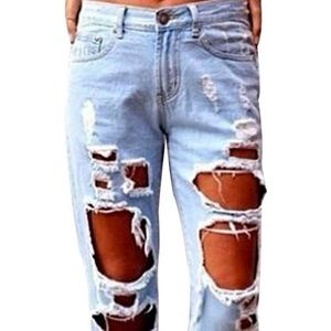 ‼️HAS DEFECTS‼️GARAGE jeans Straight Leg  Size 9.